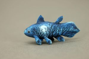 Moon Wanderer Coelacanth by hontor