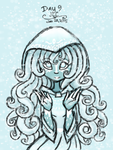 Art Challenge 9 - Human Winter by HirokoTheHedgehog