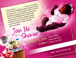 Baby shower invitation by owdesigns