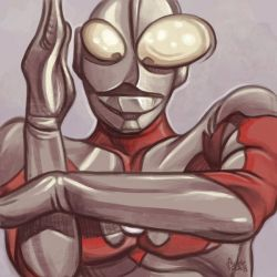 Daily Sketches Ultraman by fedde