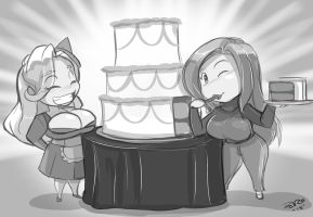 Surprise cake by danteshadow1