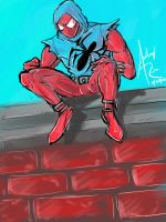 The Scarlet Spider by Archonyto