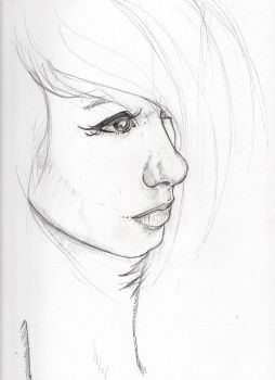 Some Girl WIP by GraphicDensity