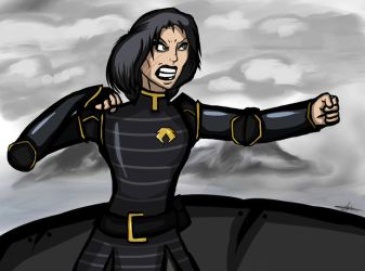 Lin Beifong by LAD210