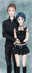 Taiki and Ami gothic by Seeraholic