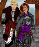 Cullen and Quizzy heading home by MacedonianMuse