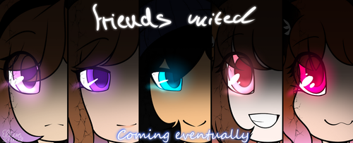 Friends United - Poster by blucloud-zz