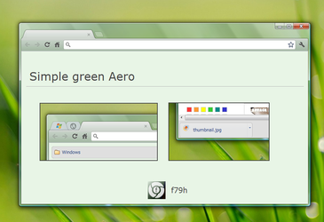 Simple green Aero by f79h
