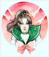 - Sailor Jupiter - by Losenko