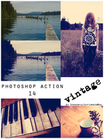 Vintage Photoshop Action by SorrowfulSeptember