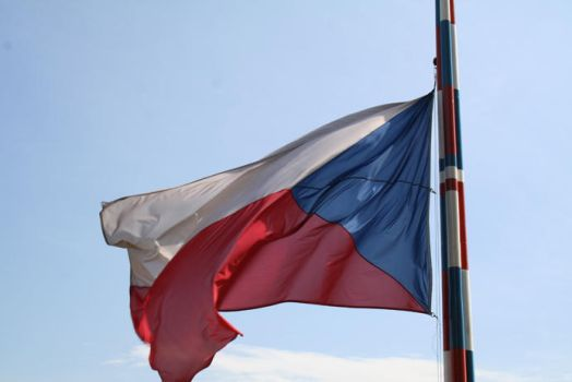 Czech flag by purplelining