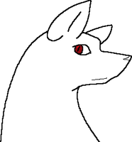 MS Paint Dog Lineart by Kayori-Ayane