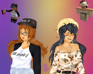 .:Req/Roblox:. These Amazin' GRLS by ErinFlame