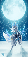 Icy Eclipse by TheHumanHeart
