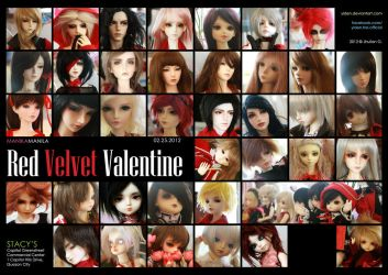 MM Meet February 2012: Red Velvet Valentine by Ylden