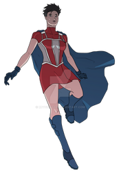 Yankee Girl redesign by Cody Conyers by roygbiv666