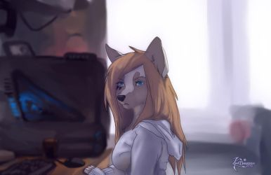 home wolf by 2078