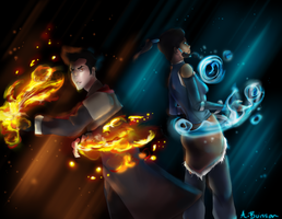 Book 2 Makorra: I Got Your Back by starlightgal93