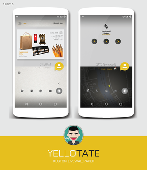 YELLOTATE, KUSTOM LIVWALLPAPER by twaintyfour