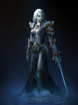 Frost Assassin-Nydia Angeer by A-Sloudi