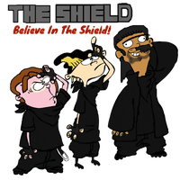 Ed, Edd n Eddy as The Shield by ThunderFists1988