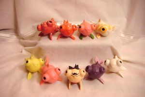 Christmas Zouies ! Amazing Goldfishes by TendresChimeres