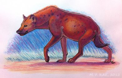 2012: Hyena, Pastel Play by WrendingRae