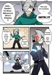 Silver Roleplay : Detroit become human pg 1 by silvergatto