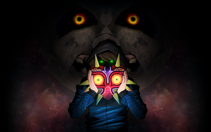 GermanLetsPlay - Majoras Mask (Wallpaper) by RozeAkane