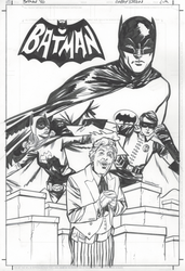 Batman '66 inks by thisismyboomstick