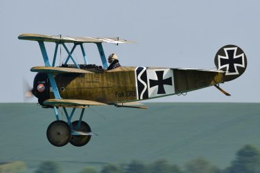 Fokker DR.I (Reproduction) by Daniel-Wales-Images
