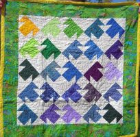 T-Shirt Quilt 1 (SOLD) by Rain-Twister