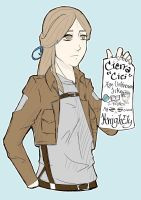 Day 1   Introduction   Cierra Knightly by iFell-intoTheSky