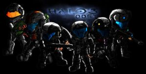 ODST Hell Jumper Squad by xRiCHARDx88