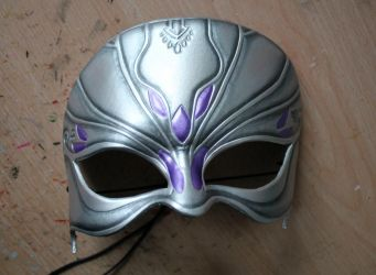 Dragon Age masquerade leather mask by ShadowFoxLeatherwork