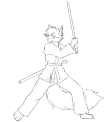 Swing that katana WIP by LordRedstar