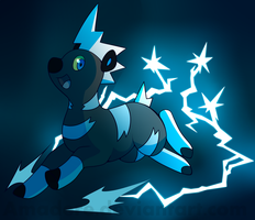 [PKMN] Little spark in the dark by Saccharinerose