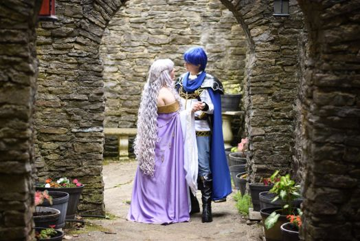 Fire Emblem Genealogy of the Holy War: The Lovers by MissCarlette