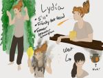 Lydia SpicyCats Ref by PelicanBear