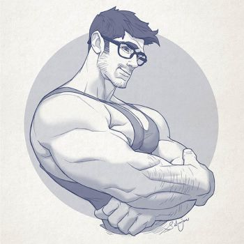 Hunk of the week #27 by silverjow