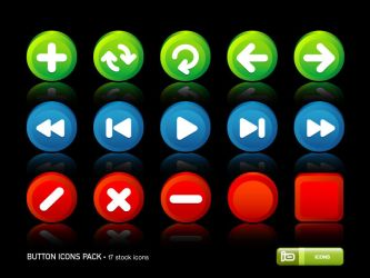 Button Icons Pack by deleket