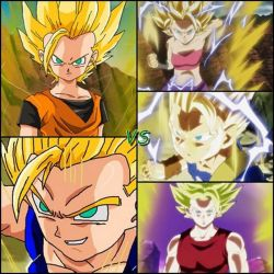 DBZ Oc' : Perfect rival by caractrer-manga