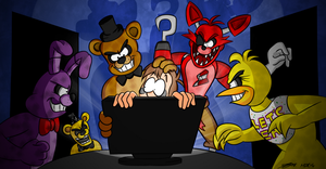 Five Nights at Freddy's by MDKartoons