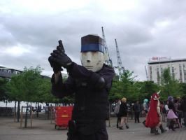 64-Bit Solid Snake Cosplayer by Collioni69