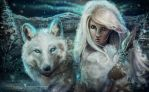 Thaya - princess of the wolves by MCVD