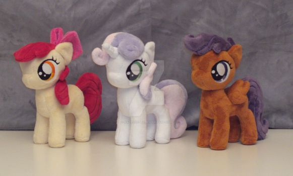 Cutie Mark Crusaders without cape by RazielleDbx