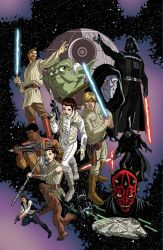 Star Wars Adventures #2 cover by TimLevins