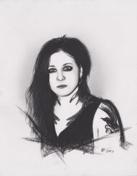 Laura Jane Grace from Against Me by xabigal-eyesx