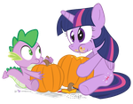Mmm... Pumpkin Guts by dm29