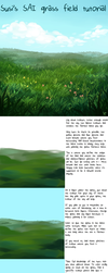 SAI Grass Field Tutorial by Susiron